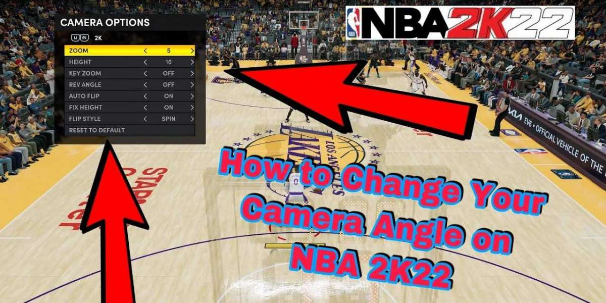 Change in the NBA 2K22 camera angle